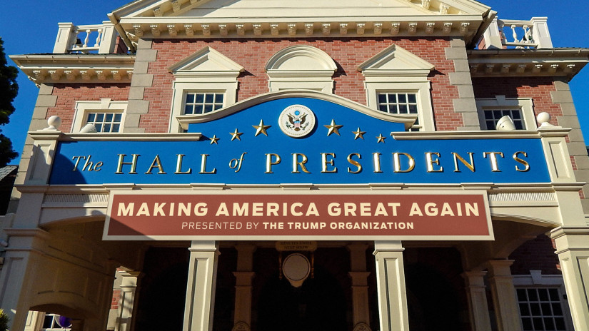 Donald Trump Hall of Presidents
