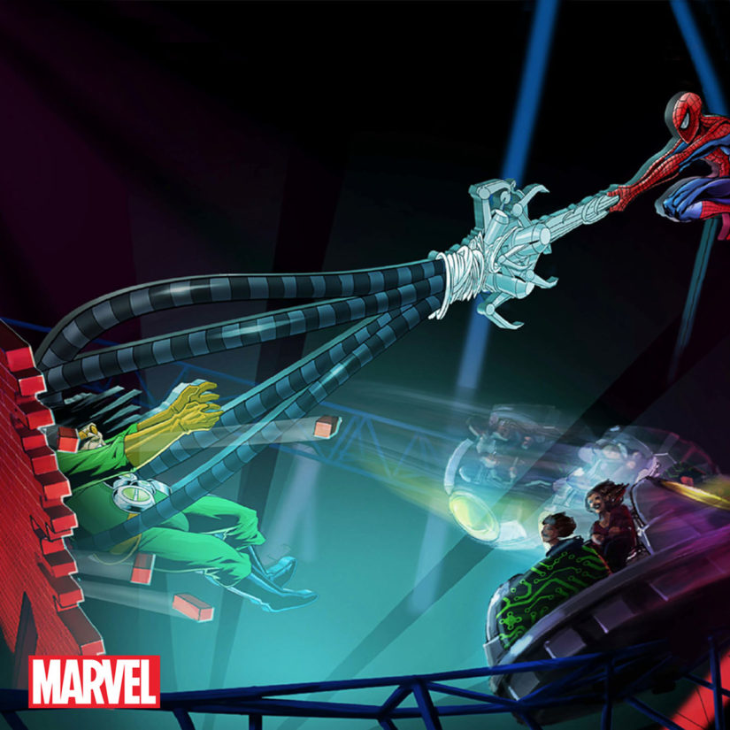 Theme-Park-Marvel-Spider-Man-Ride