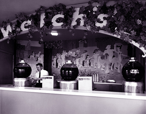 Disneyland Welch's Grape Juice Stand