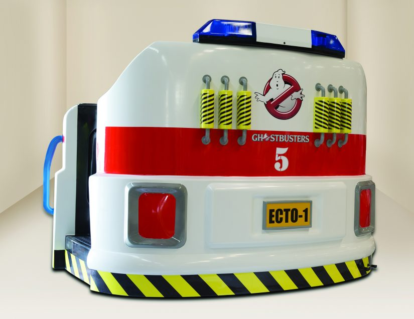 Ghostbusters Ecto-Pod BACK