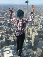 Step Over The Edge at Skydeck Chicago