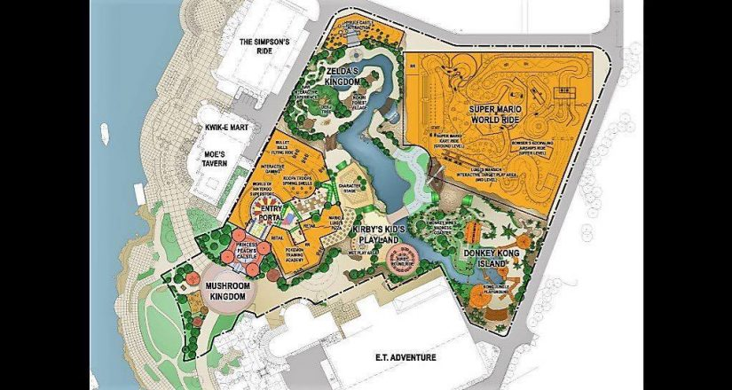 Universal Studios Super Nintendo World Plans Leaked? - Theme Park ...