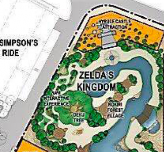 Universal studios super nintendo world plans leaked theme park in the upper left you have a section of the land dedicated entirely to zelda however its the yellow building towards the top that you should pay special publicscrutiny Choice Image