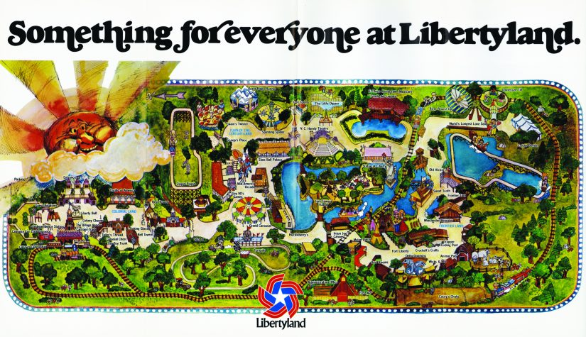 remembering elvis presley 39 s favorite theme park in new book libertyland theme park university. Black Bedroom Furniture Sets. Home Design Ideas