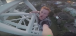 Daredevil Climbs Roller Coaster With No Safety Equipment – Gets Banned For Life