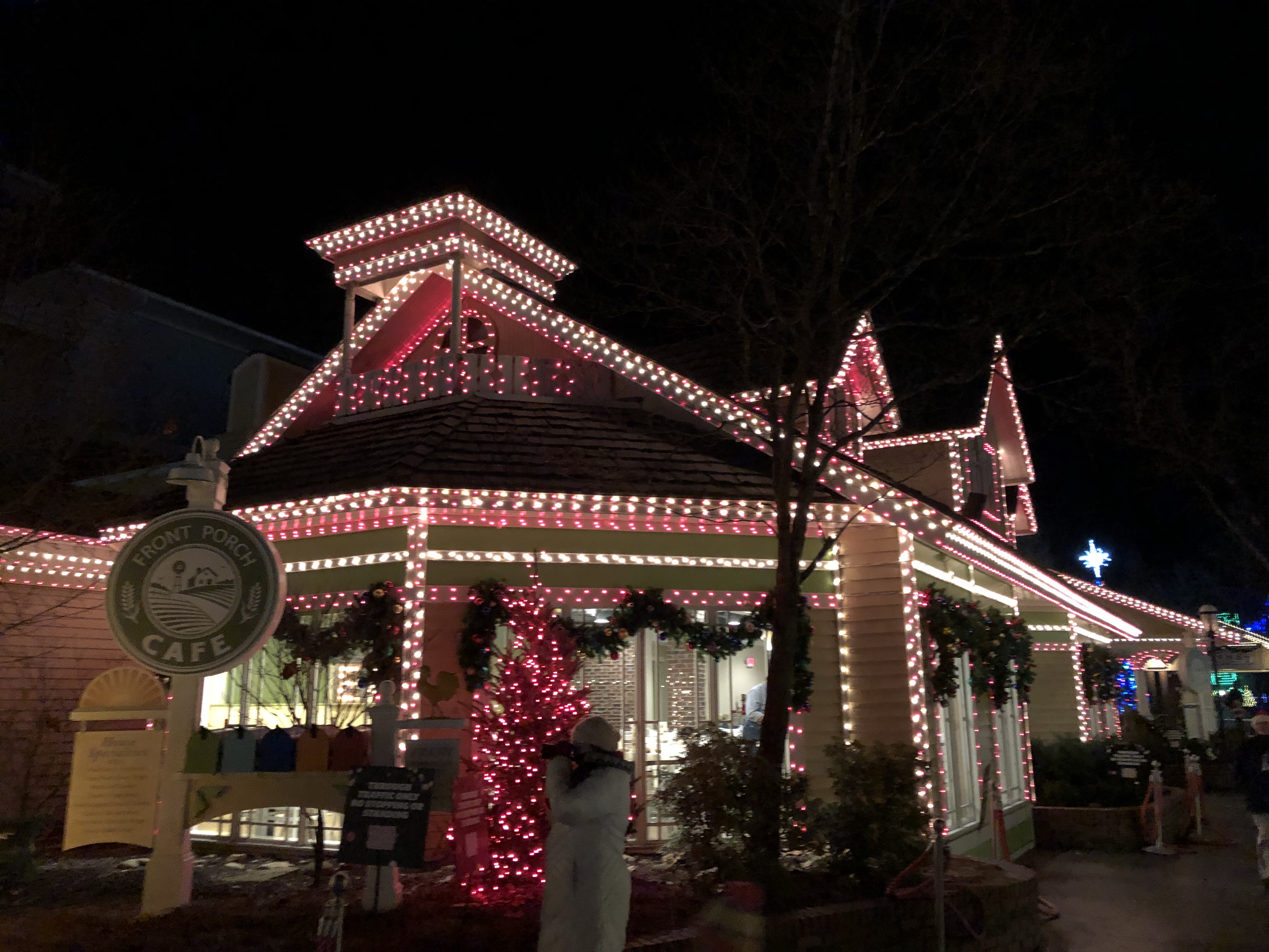 its an unexpected surprise and thats part of what makes dollywood christmas so great