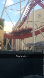 "Rip Ride Rockit at Universal Studios Florida ""Valleys"" Again"