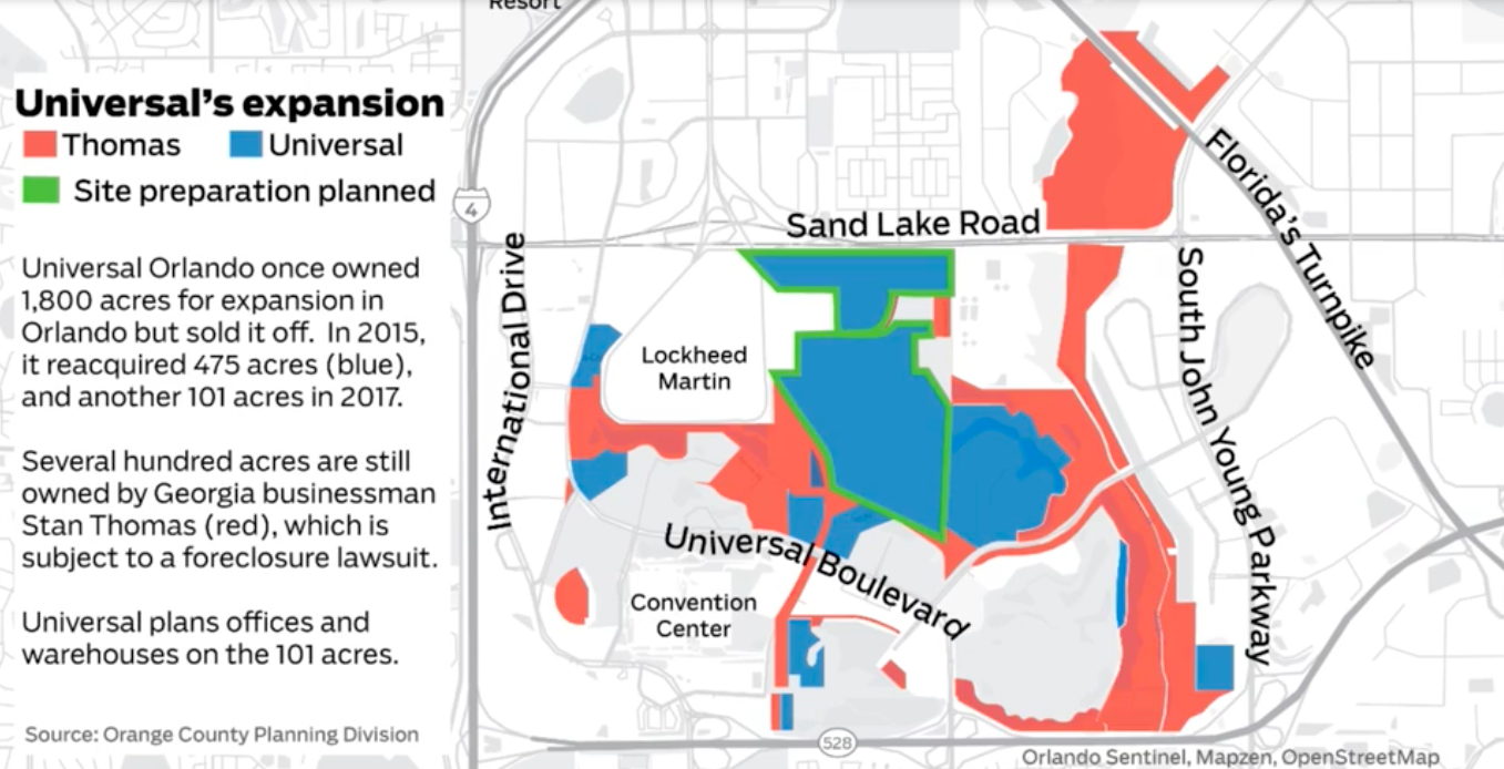 Universal Orlando Acquires Even More Land for Fourth Theme Park ...