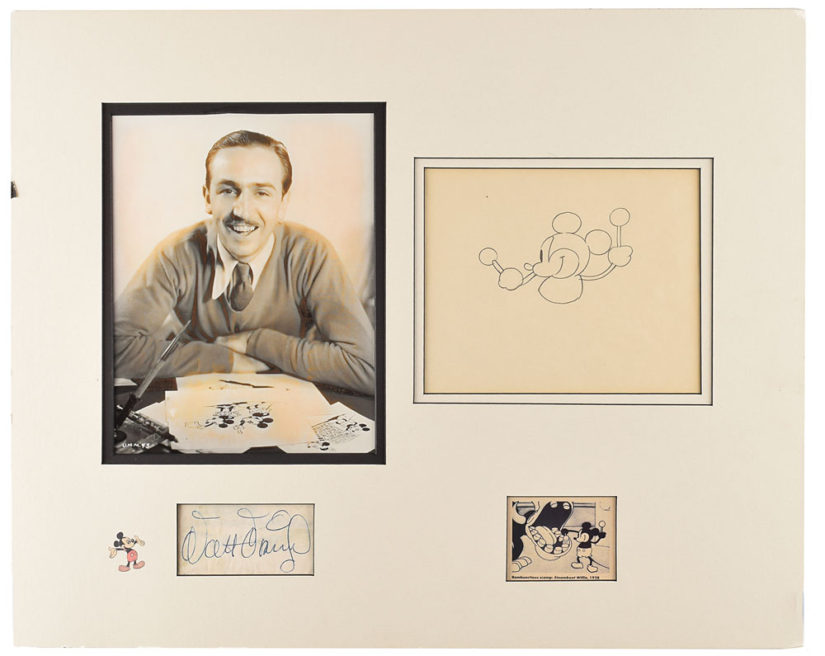 Extremely Rare Disney Animation Pieces Going to Auction Soon